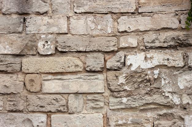 Architektonisches element mauerwerk stein ziegelmauer textur. nahaufnahme hintergrund.