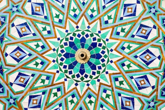 Architektur der hassan-moschee