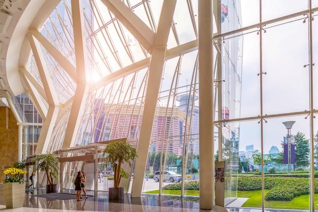 Architektur innen bürogebäude lobby hotel lobby modern
