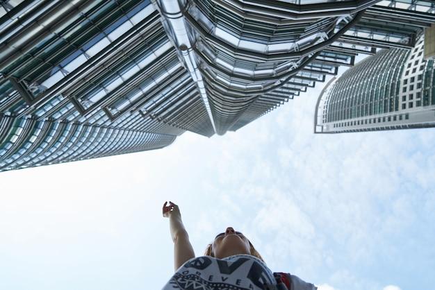 Architektur kuala lumpur twin tower geschäftsstadtzentrum