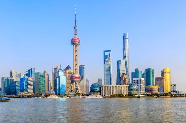 Architektur metropole finanzielle asiatische wahrzeichen parks