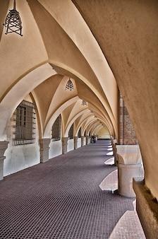 Architektur portikus rhodes gewölbe gebäude griechenland