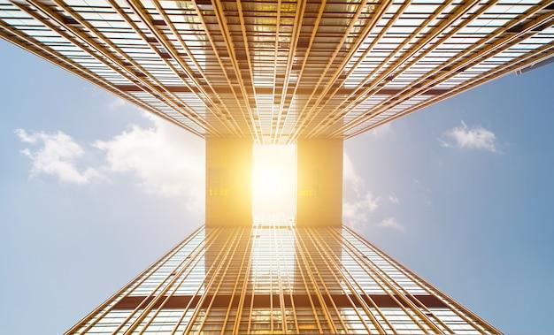 Architektur und himmel