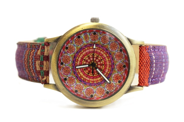 Armbanduhren im hippie-ethno-stil