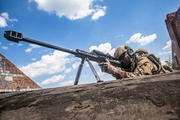 Armee ranger scharfschütze