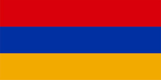 Armenische flagge armeniens