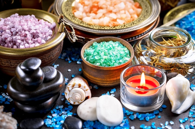 Aromatherapie und spa