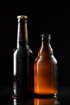 Arrangement mit leckerem amerikanischem bier