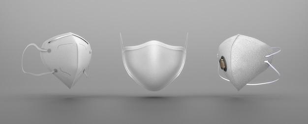 Art der weißen medizinischen masken
