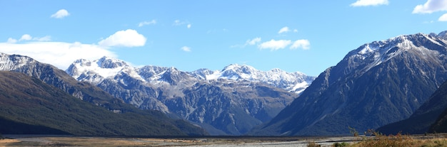 Arthur's pass nationalpark neuseeland