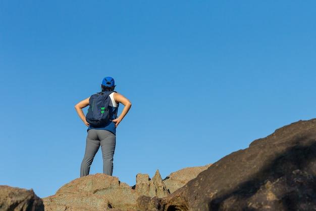 Asiatinnen trainieren, sport, klettern, morgen, frischluft