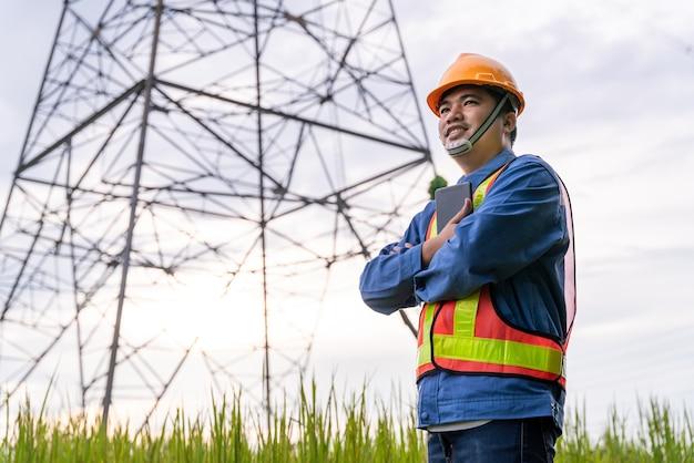 Asiatische ingenieurarbeit