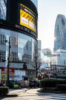 Asiatische stadtlandschaft