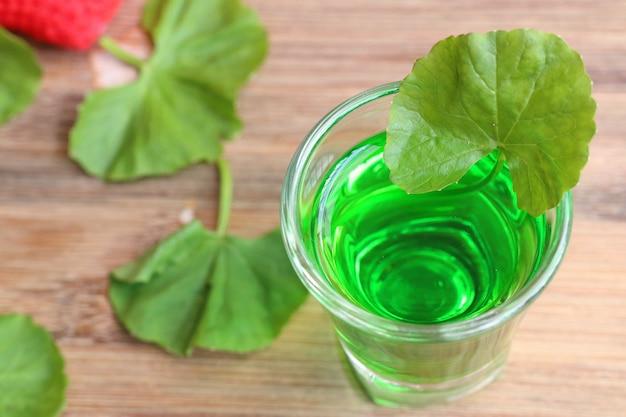 Asiatischer saft für gesundes