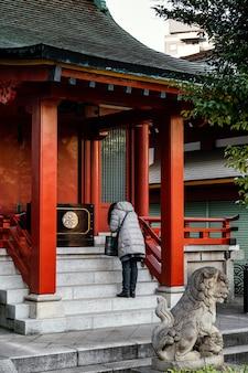 Asiatischer touristenattraktionsort