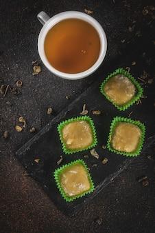 Asiatisches dessert mochi