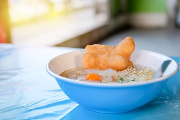 Asiatisches lieblingsfrühstück.