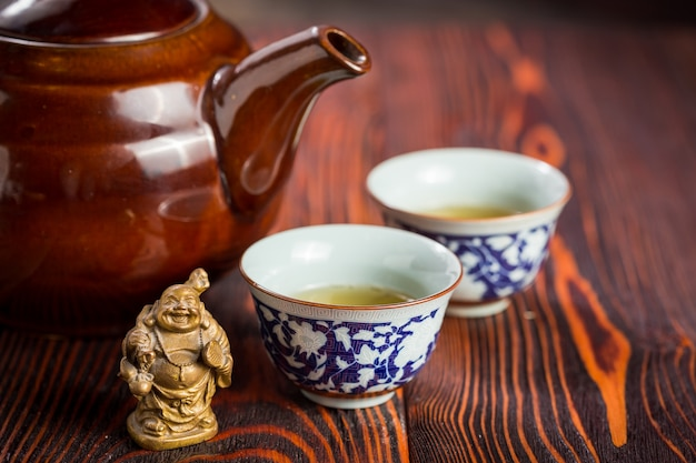 Asiatisches teeservice