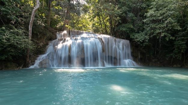 Asien hintergrund schöne schönheit blaue kaskade umwelt ära wan exotischen herbst