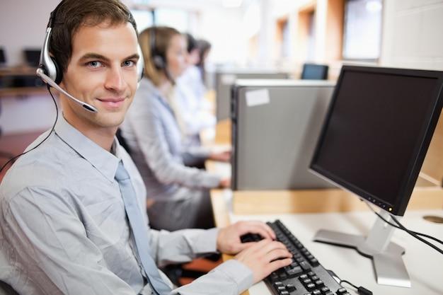 Assistent mit einem computer