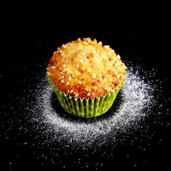 Assorted with delicious hausgemachten cupcakes mit rosinen und schokolade Premium Fotos