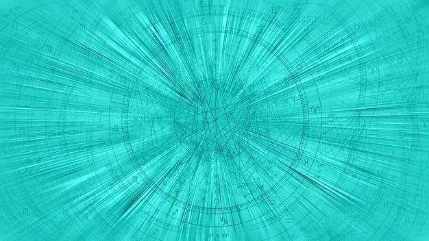 Astrologie horoskop muster textur hintergrund, grafikdesign