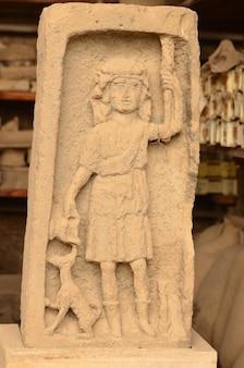Atemberaubendes artefakt aus der stadt pompeji in italien