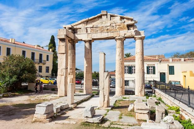 Athena gate, römische agora