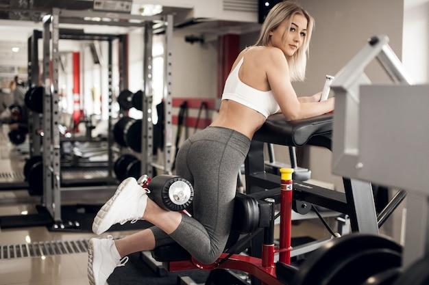 Athletische athlet aerobic aktiver erwachsener