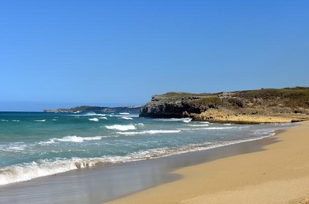 Atlantikküste. dominikanische republik