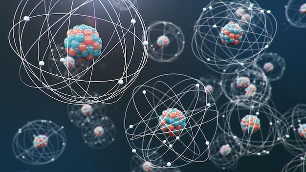 Atomare struktur.