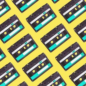 Audiokassettenmuster.