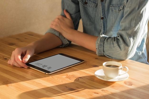 Aufgabenliste auf dem tablet pc erstellen