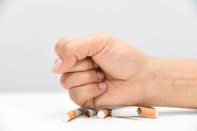 Aufhören zu rauchen. weltnichtrauchertag, weltantitabaktag, 31. mai nichtrauchertag.