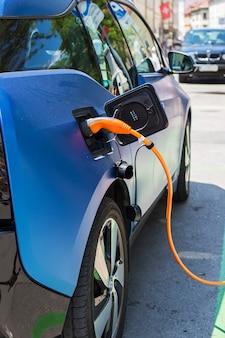Aufladung eines elektroautos