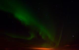 Aurora borealis, nord-