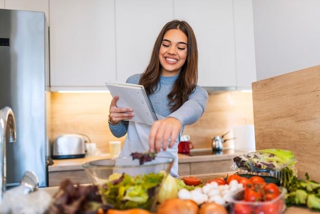 Aus gesundem gemüse ein leckeres gericht zubereiten