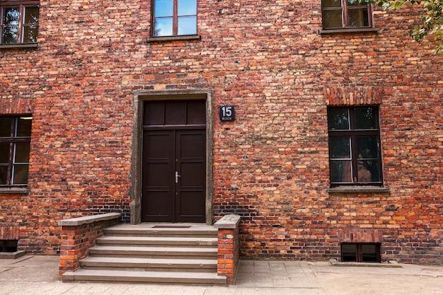 Auschwitz-birkenau nazi-konzentrationslagermuseum in polen