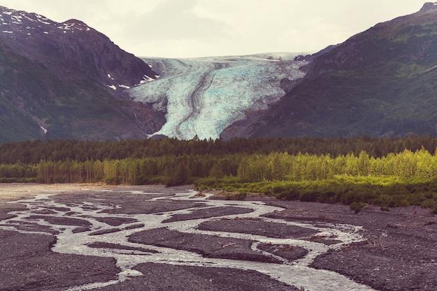 Ausfahrt gletscher, kenai fjords national park, seward, alaska