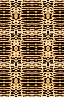 Ausgewaschene textur aquarell textur farbe farbstoff schwarzgelb textil böhmischer abstrakter stil