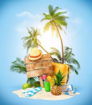 Ausrüstung für den sommer