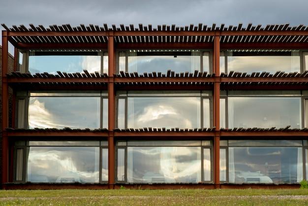 Außenansicht des singular hotels, puerto natales, patagonia, chile
