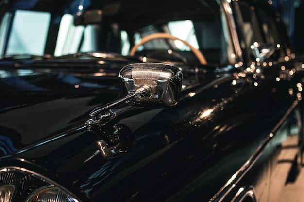 Außenspiegel des retro-autos