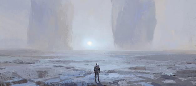 Außerirdische landform