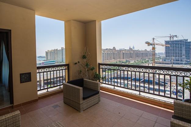 Aussicht auf die palmeninsel-appartements