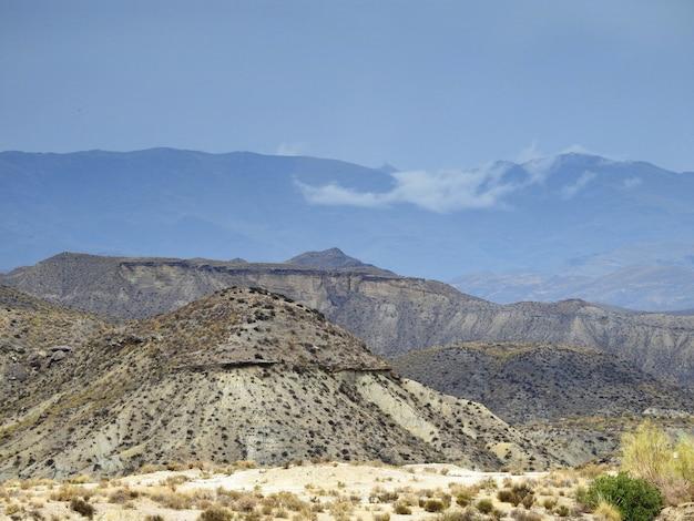 Aussicht sobre el desierto de tabernas