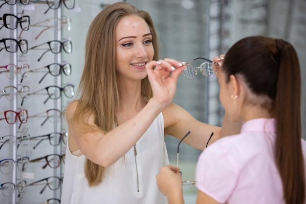 Auswahl an brillen im shop für brillen zur sehkorrektur