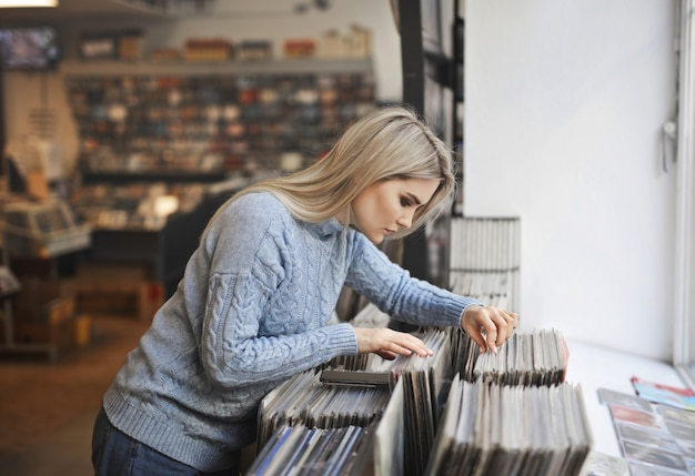 Auswahl des richtigen vinyls
