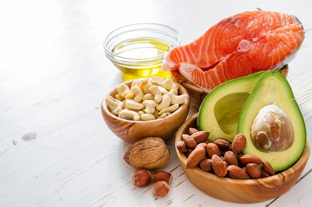 Auswahl gesunder fettquellen