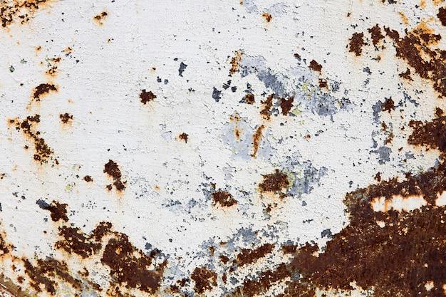 Auszug korrodierter bunter rostiger metallhintergrund